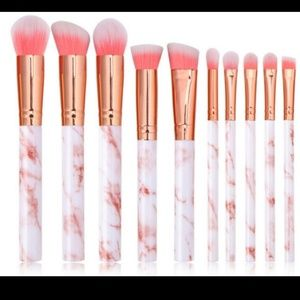 15pcs Marbling Beauty Makeup Brushes Set